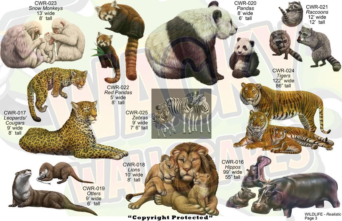 Wildlife Realistic Animals 3