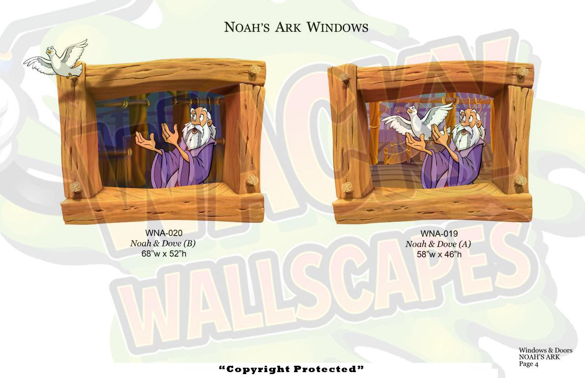 Noahs Ark Windows