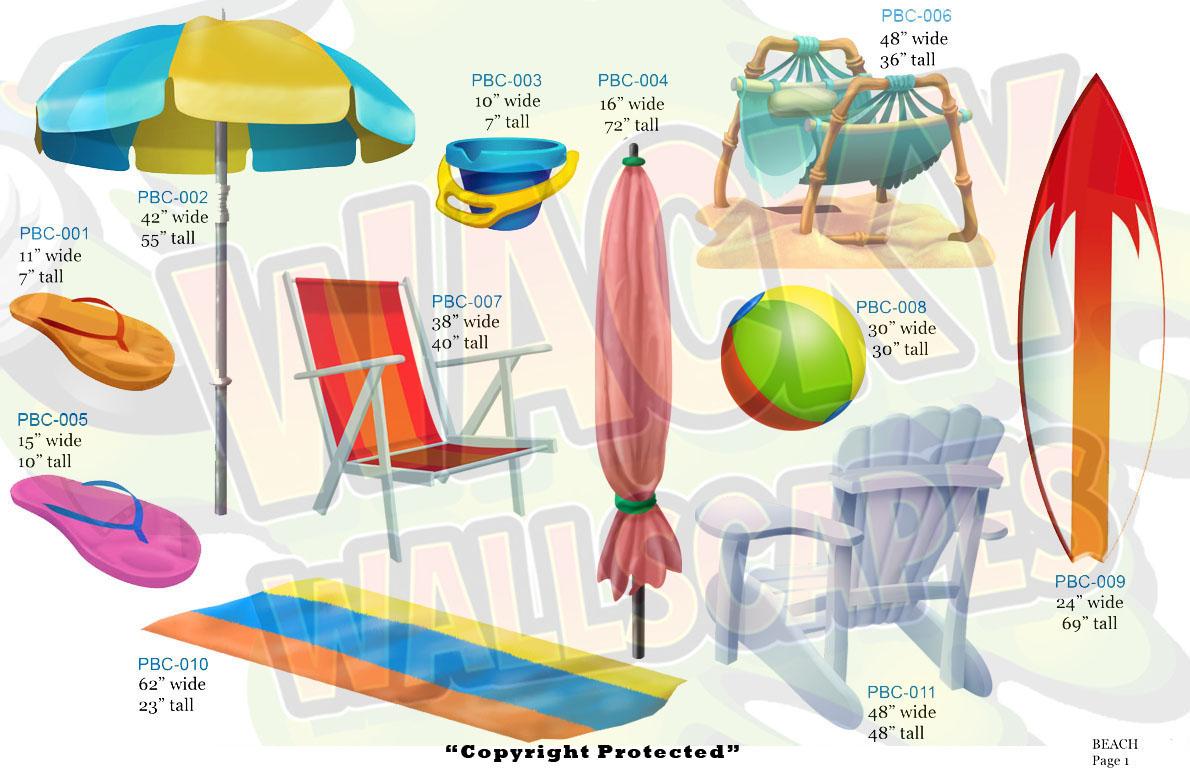 beach props