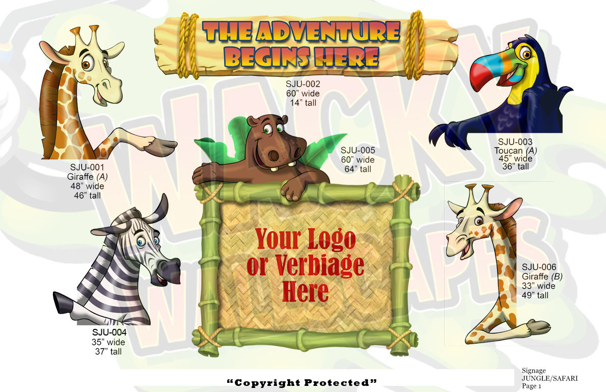 jungle-safari signage
