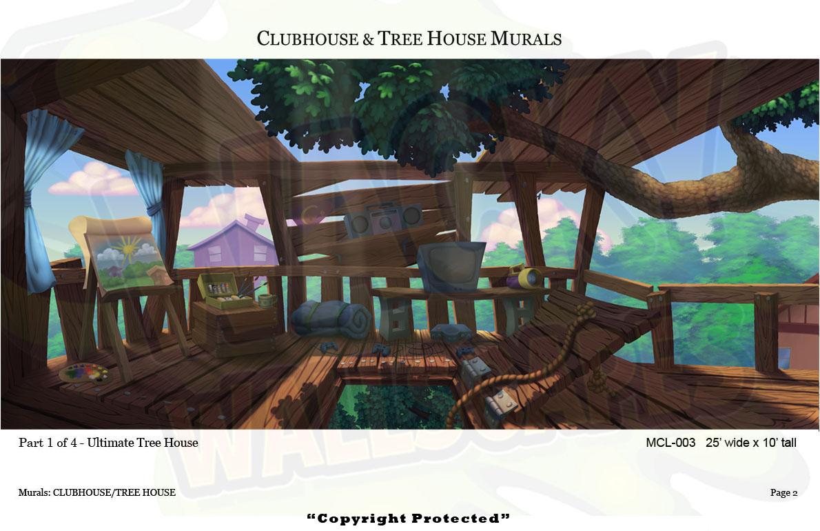 Club/Treehouse Mural 4