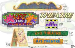 theatre signage