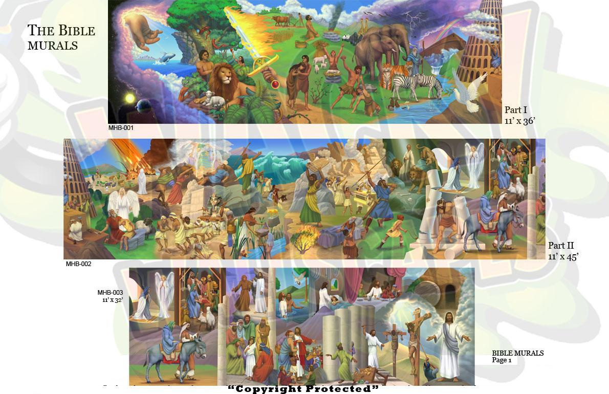 Bible Murals