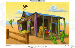 Western Murals
