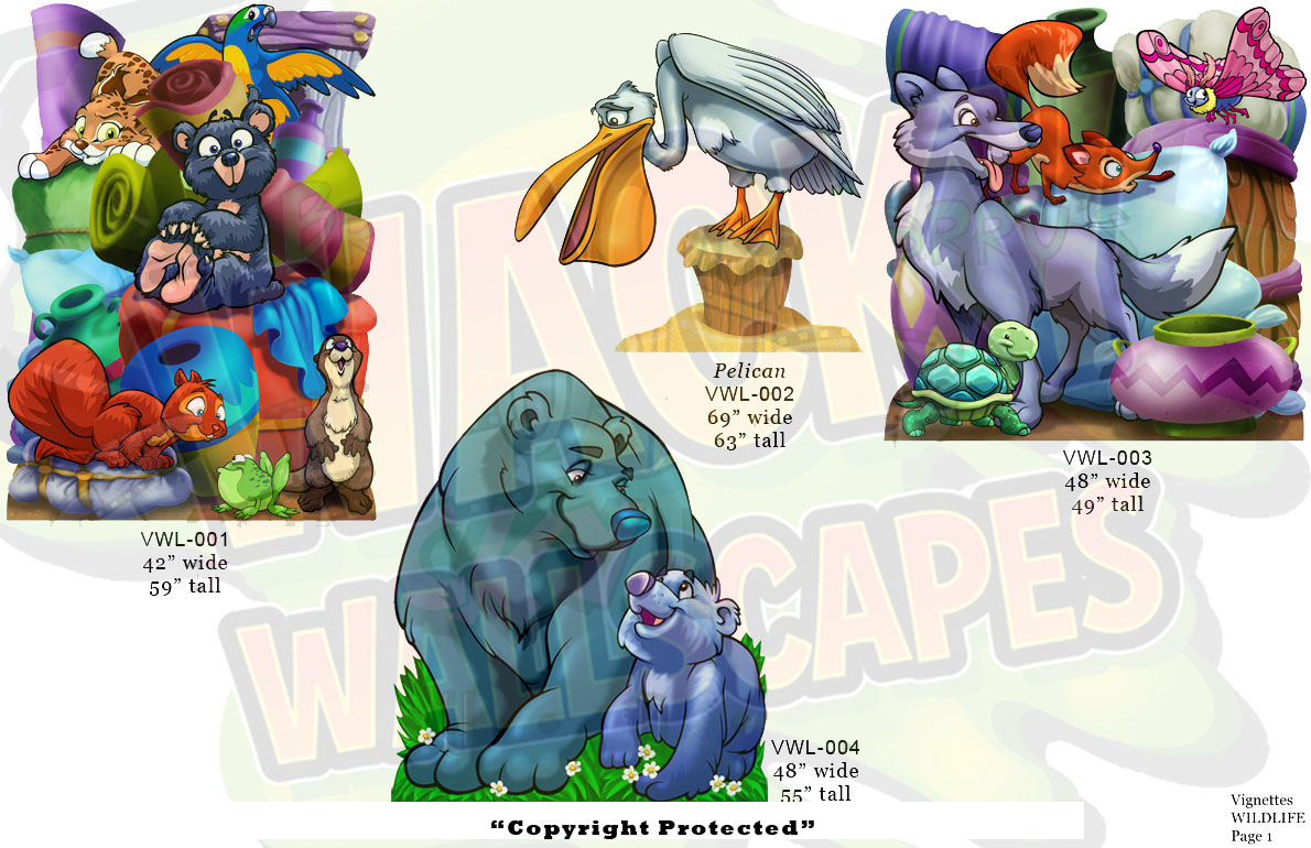 wildlife vignettes