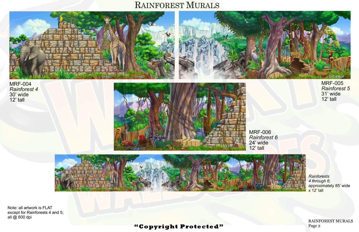 Rainforest Mural 2