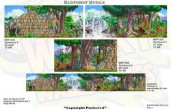 Rainforest Mural 2