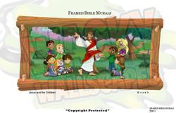 Jesus_&_children_4x8