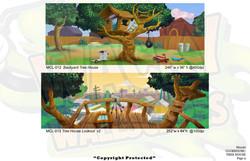 Club/Treehouse Murals 11