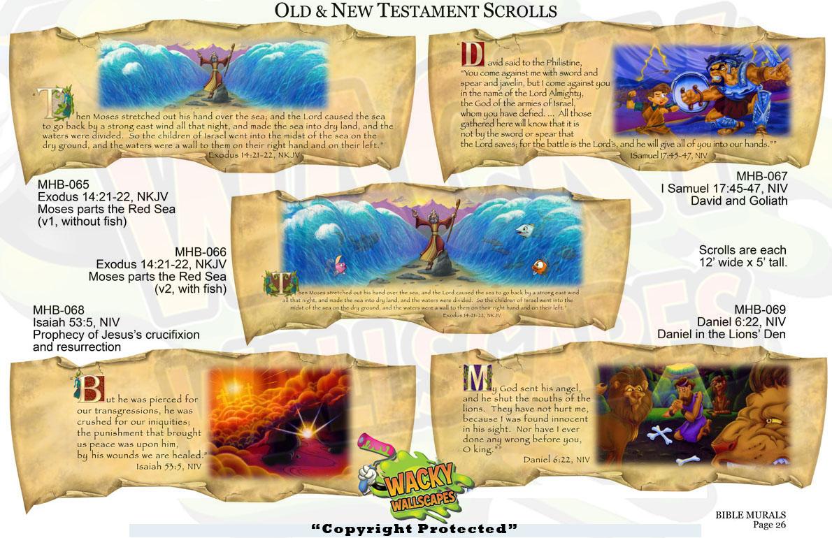 Bible Murals 19