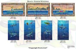 beach windows