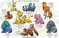 Mom, Dad & Baby Animals