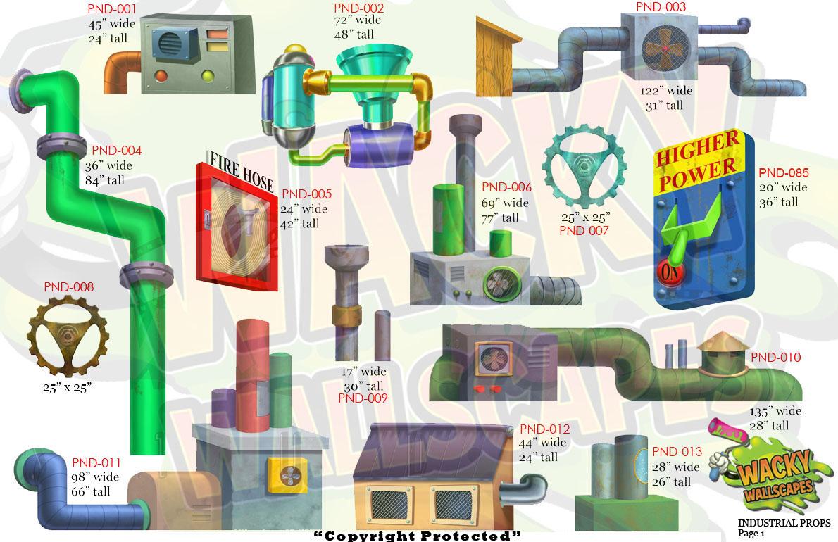 industrial props