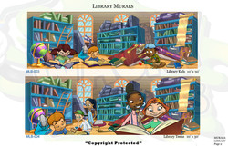Library Murals 2