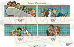 wainscoting borders