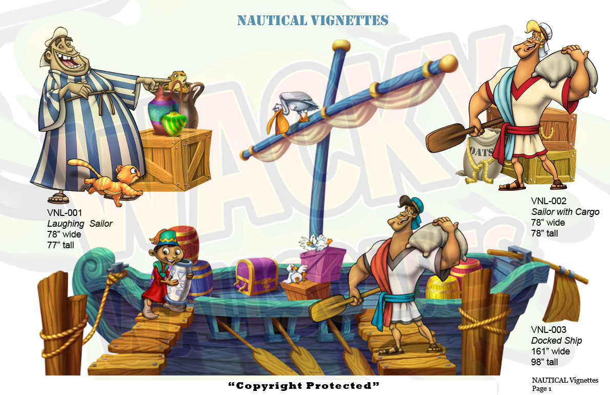 nautical vignettes
