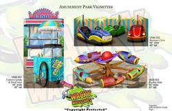 amusement park vignettes