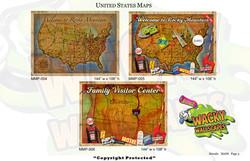 Maps Murals 3