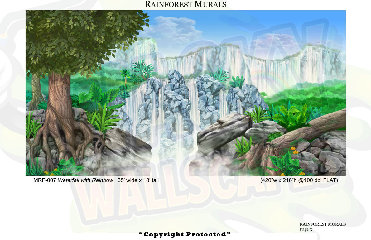 Rainforest Mural 3