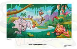 Jungle Mural 7