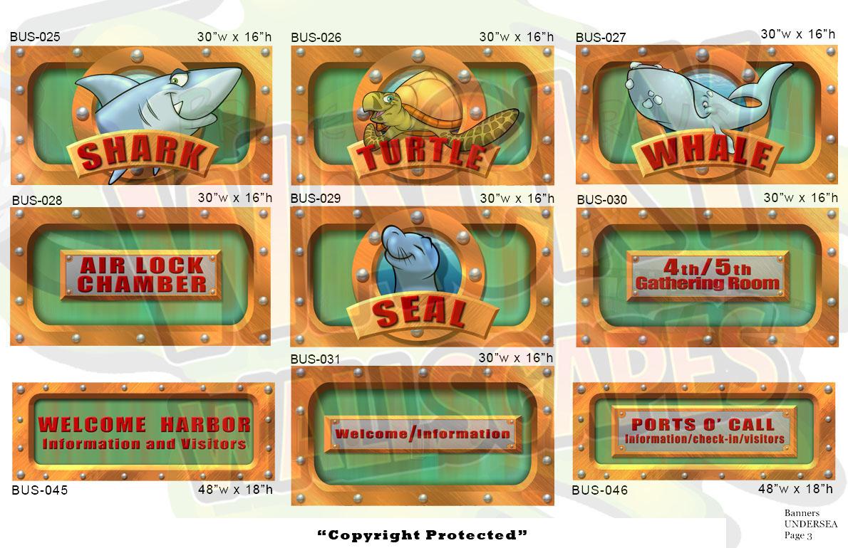 Undersea Banners 2