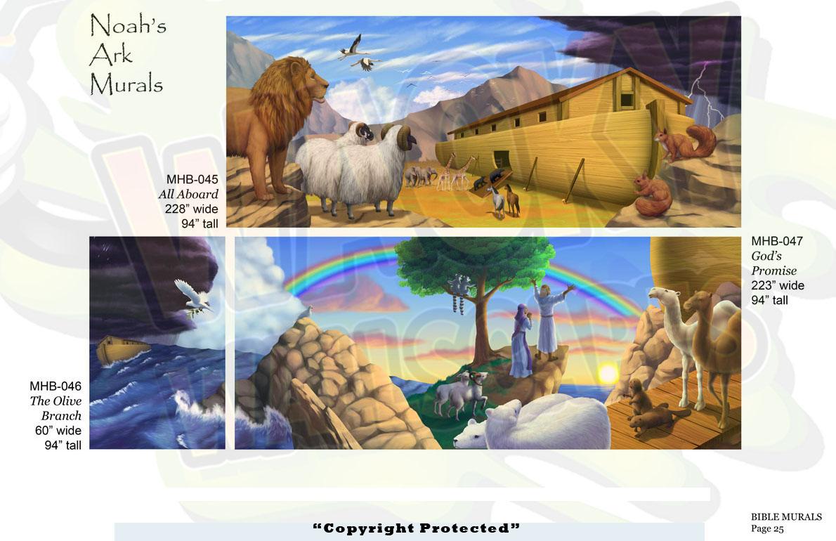 Bible Murals 18