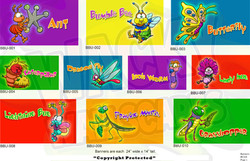Bug Banners