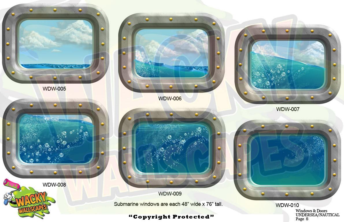 Undersea windows