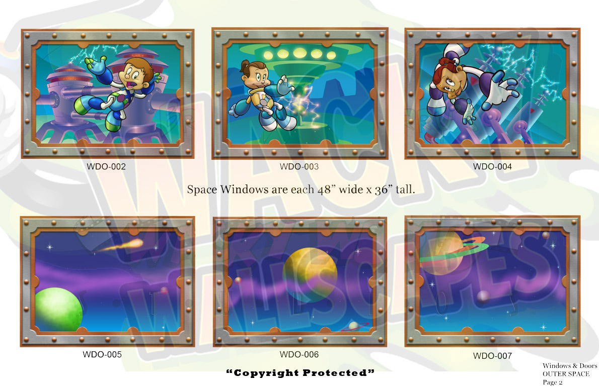 outer space windows