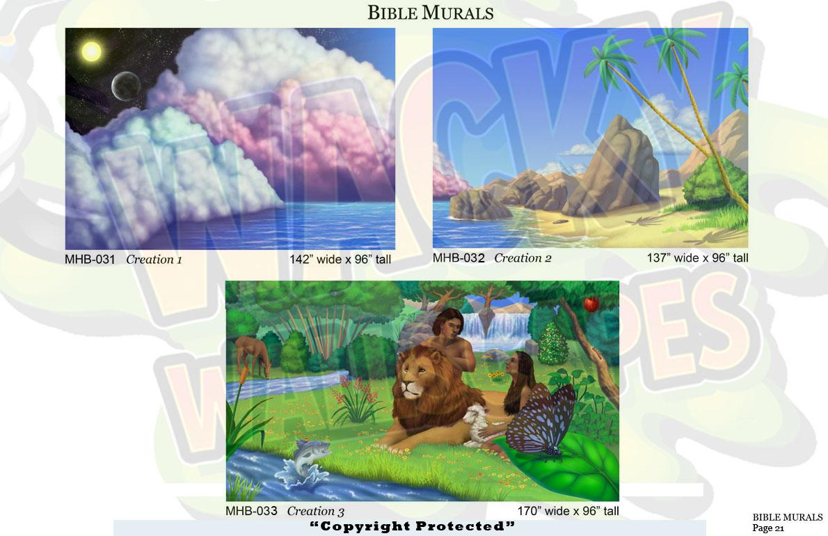 Bible Murals 14