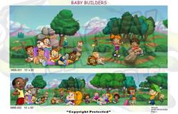 Baby Builders Murals