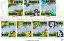 Animal Banners 3