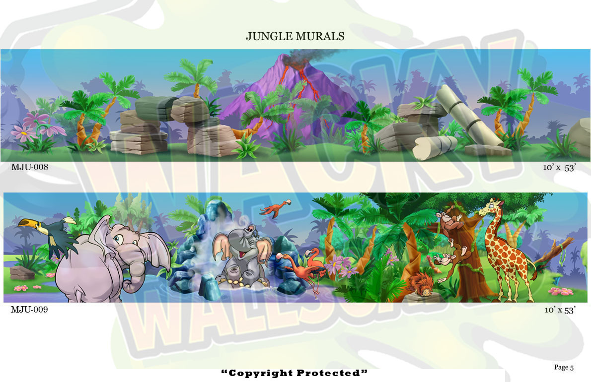 Jungle Murals 5