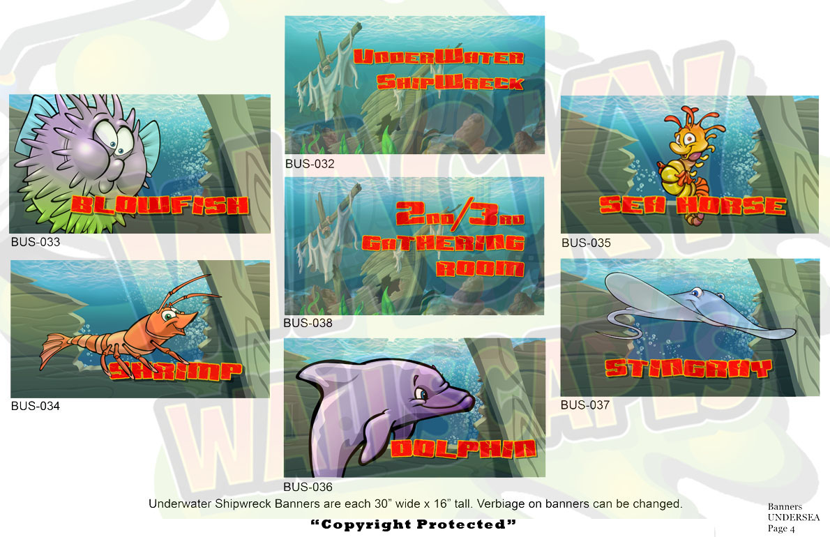 Undersea Banners