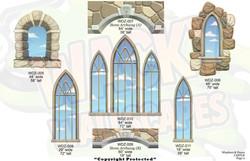 castle windows