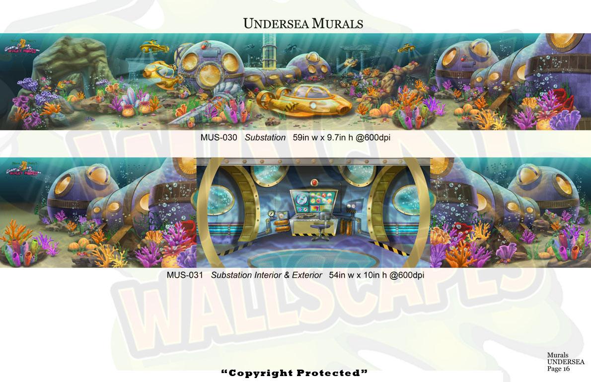 Undersea Murals 12