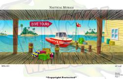 Nautical Mural