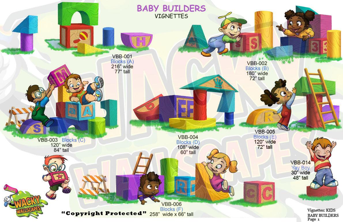 baby builders vignettes