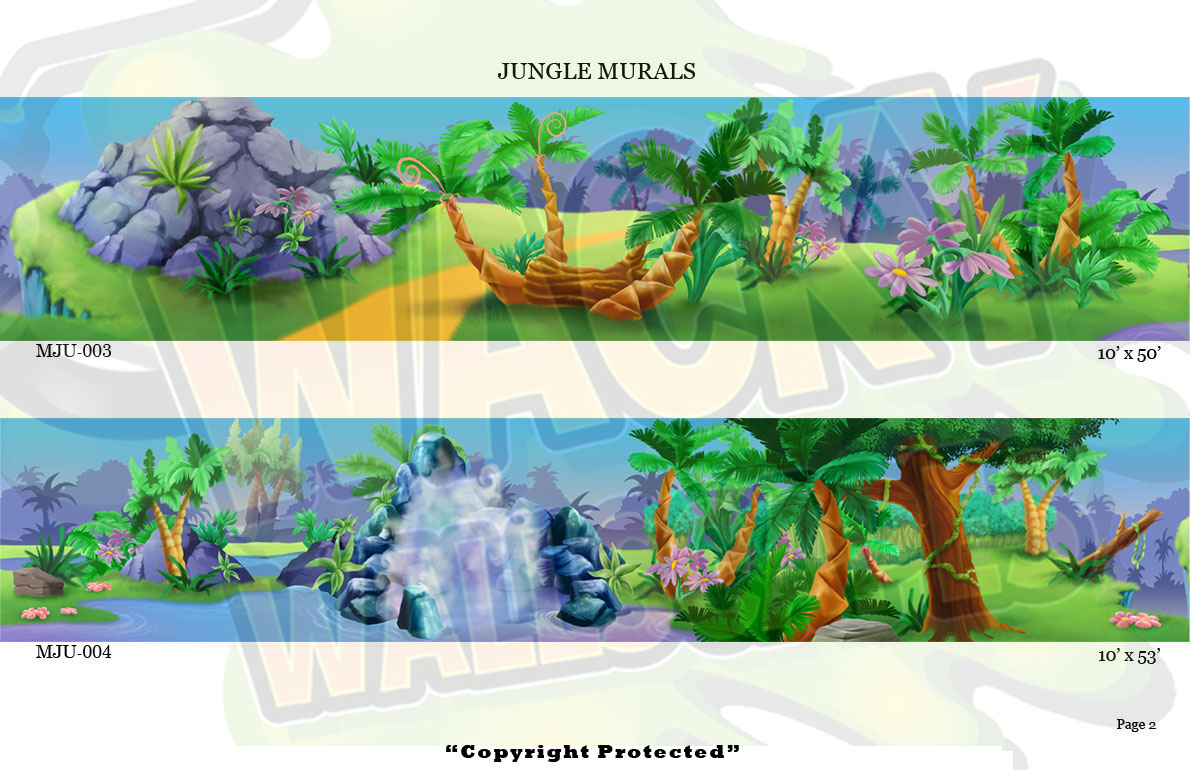 Jungle Murals 2