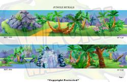 Jungle Murals 2