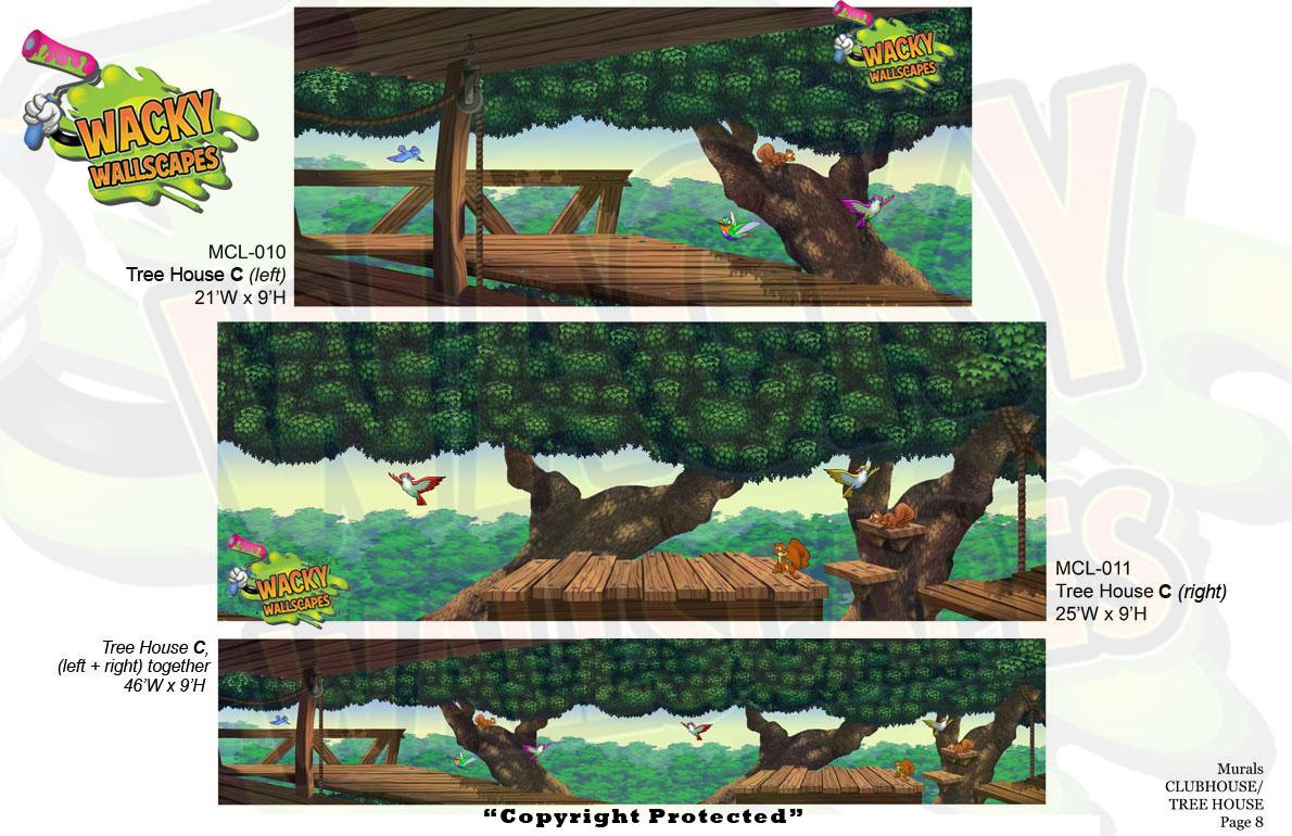 Club/Treehouse Murals 10