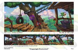 Club/Treehouse Murals 6