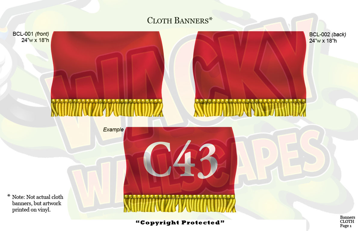 Cloth Banners