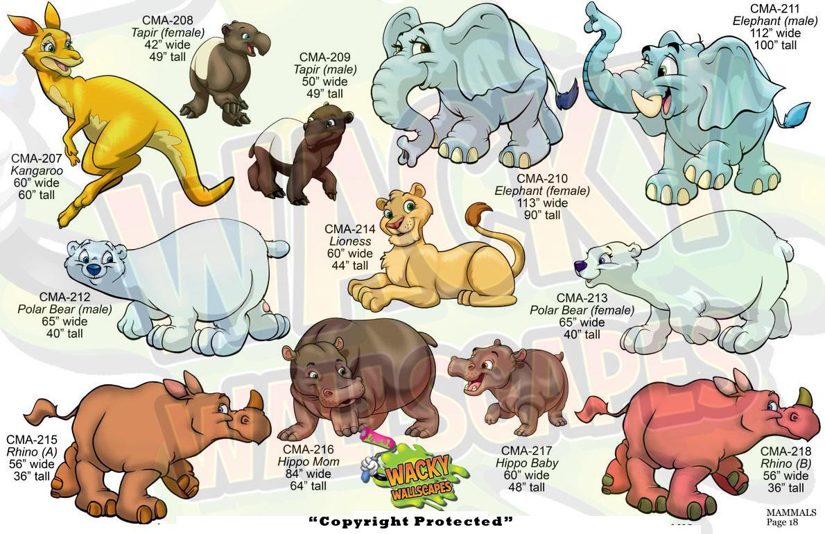 Mammals 18