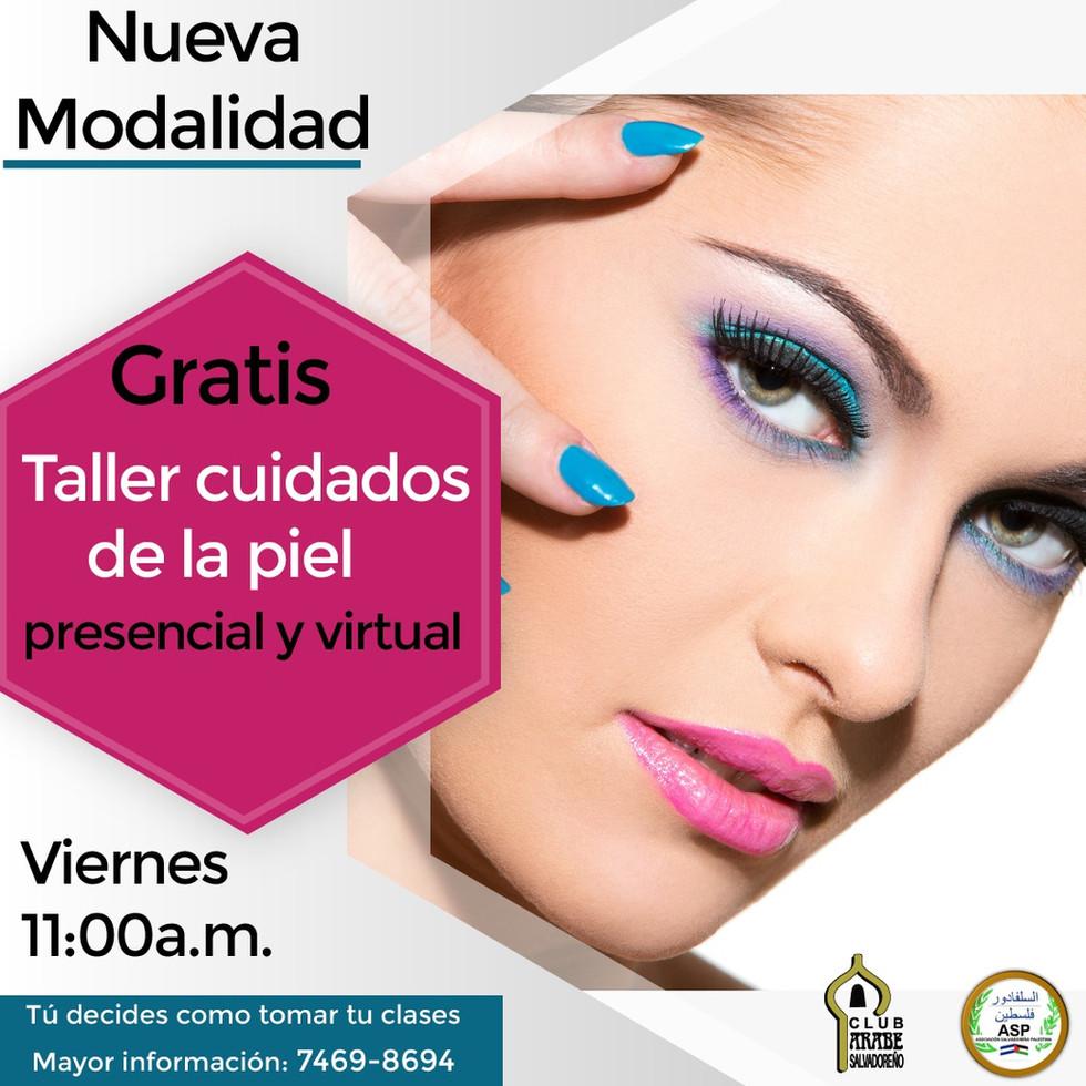 Clases de cuidados de la piel | Club Árabe Salvadoreño