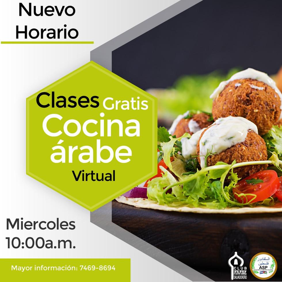 Clases de Cocina Árabe | Club Árabe Salvadoreño