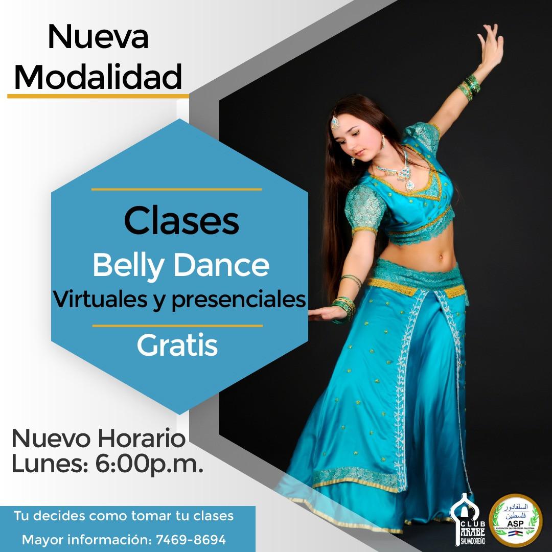 Clases de Belly Dance | Club Árabe Salvadoreño