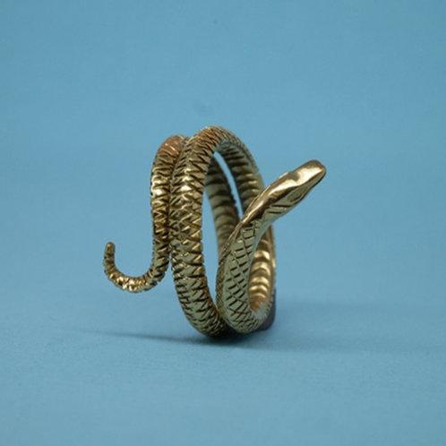 Grass Snake Ring