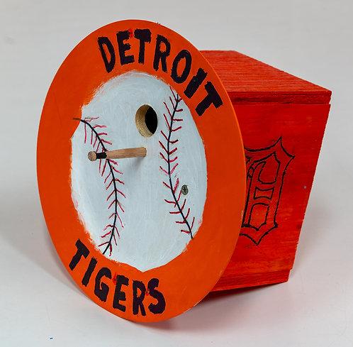 Detroit Tigers Birdhouse