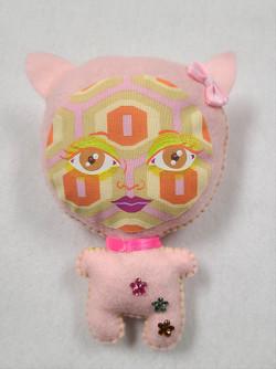 Plush PopArt Cat Ear Doll